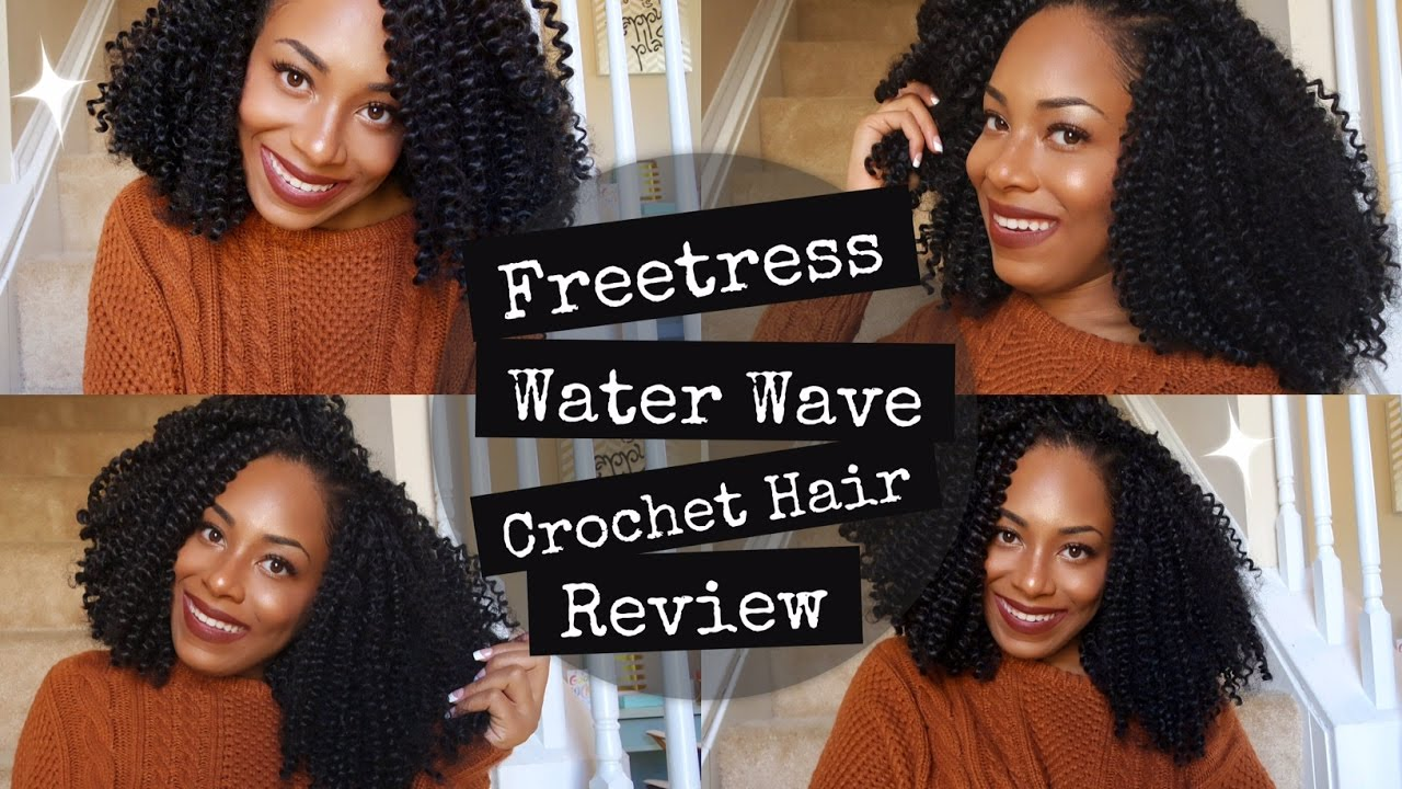 Freetress Water Wave Initial And Final Crochet Hair Review Lia Lavon You