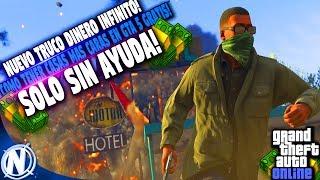 NUEVO TRUCO DINERO INFINITO *SOLO SIN AYUDA*!   COMO GANAR MUCHO DINERO EN GTA 5!