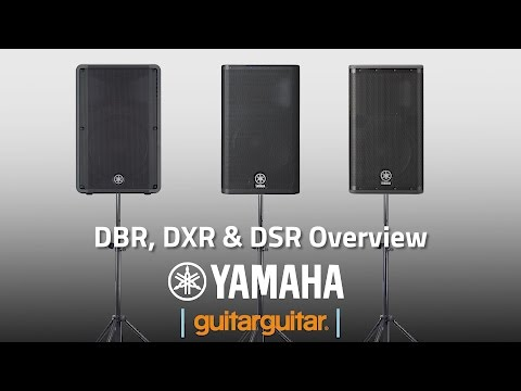 Yamaha DBR, DXR & DSR   PA Systems - YouTube