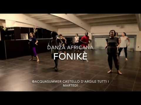 Fonikè corsi di danza e percussioni dell'Africa dell'ovest a Castello d'Argile