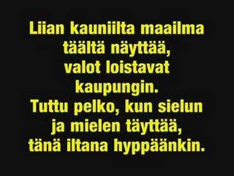 Leevi and the Leavings- Keltainen Huivi