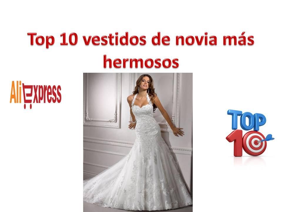 Top 10 Mejores Vestidos de Novia Más Hermosos de Los Aliexpress ...