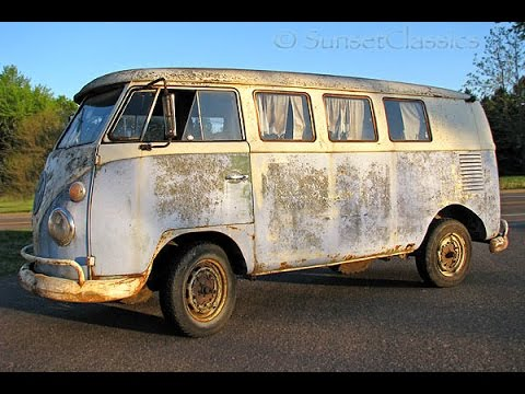 1965 Volkswagen Kombi Bus Split-Window Barn Find - YouTube