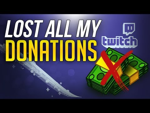 LOST ALL MY DONATIONS  GOFUNDME HOW I LOST ALL MY MONEY Twitch Donation Chargeback UPDATE