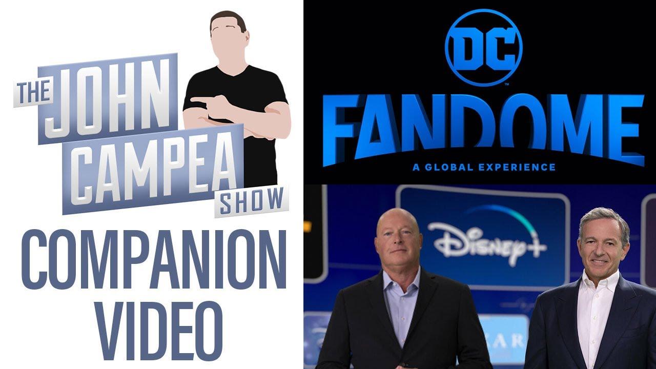 Was DC Fandome Or The Disney+ Announcement Event Better - TJCS Companion Video