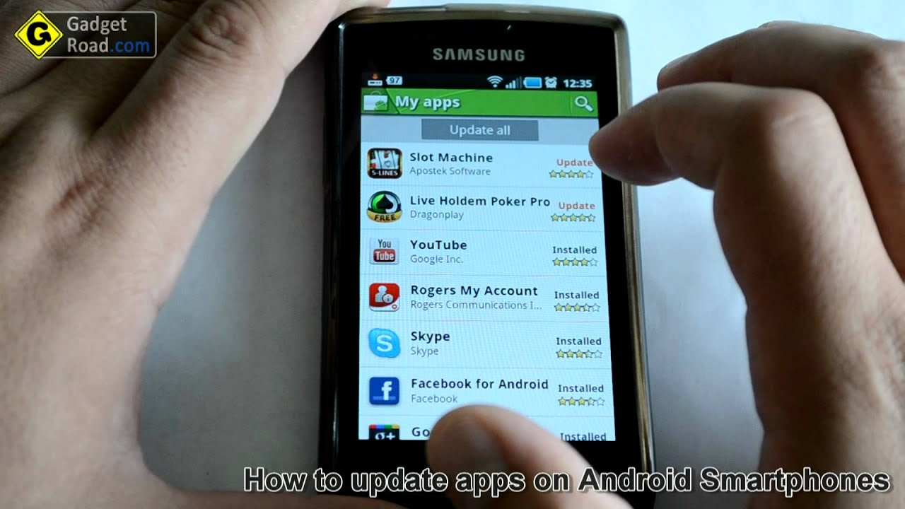 how to stop app update on android