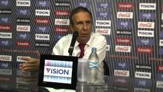 Conferencia de prensa del DT Gerardo Pelusso (06-02-2013)
