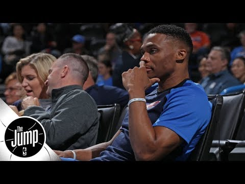 Should Thunder be worried about Russell Westbrook's injury status?   The Jump