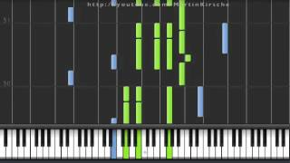 Synthesia Yann Tiersen   Sur le fil