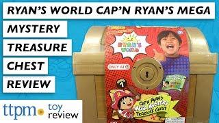 Target Exclusive | Ryan's World Cap'N Ryan's Mega Mystery Treasure Chest Series 1 from Bonkers Toys