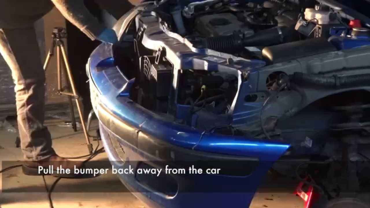 bumper, wing and headlight removal from a peugeot 106 - youtube