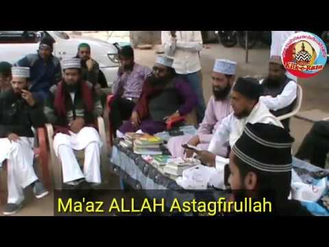 Latest New Munazra Sunni Ashfaq Ahmad Raza vs Deobandi Umair Qasmi on Hifzul Iman & Ilme Gaib
