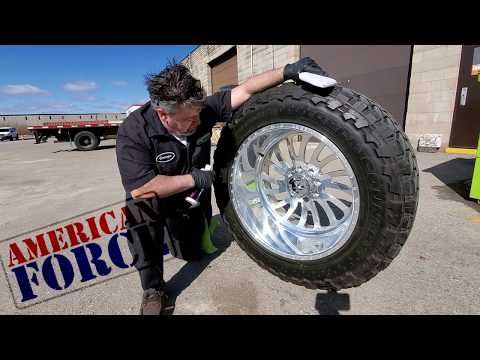 HOW TO HAND POLISH AMERICAN FORCE WHEELS WITH SINISTERS DEVILS BREW METAL POLISH