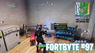 Fortnite Battle Royale ? Fortbyte Challenges How to get the Fortbyte #97