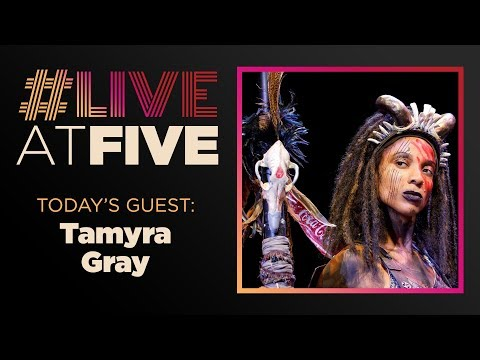 Broadway.com #LiveatFive with Tamyra Gray of ONCE ON THIS ISLAND