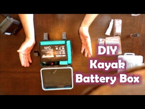 hqdefault how to make a fish finder waterproof 12v battery box youtube
