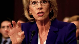 betsy devos bought the republicans who will support her