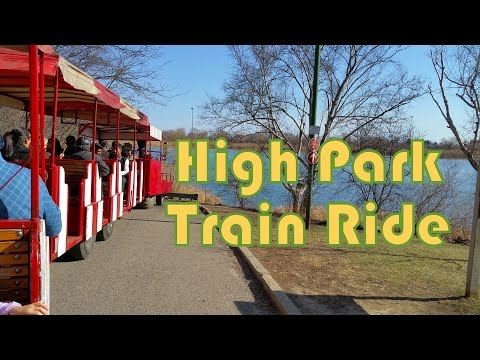 High Park Toronto Train Ride