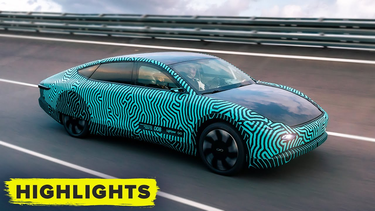 Download Lightyear One prototype solar-powered car: Watch performance testing