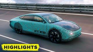 Lightyear One prototype solar-powered car: Watch performance testing