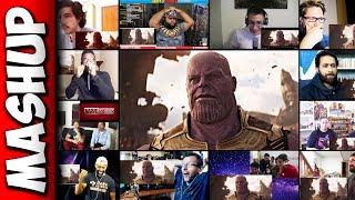 Avengers: Infinity War Trailer Reaction Mashup