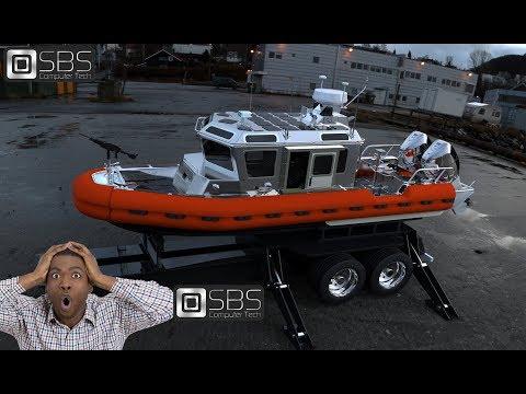 Coast Guard Boat 3d modeling by SBS Computer Tech.