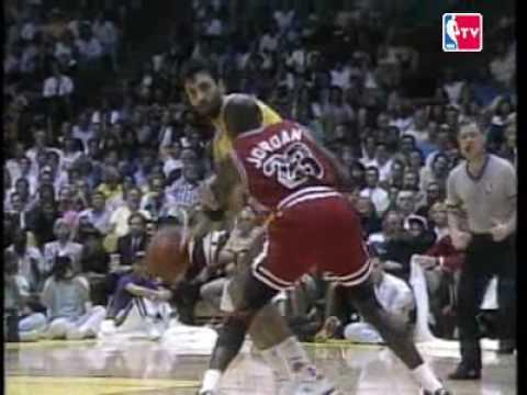 NBA ON NBC - LAKERS VS BULLS INTRO - NBA FINALS 1991