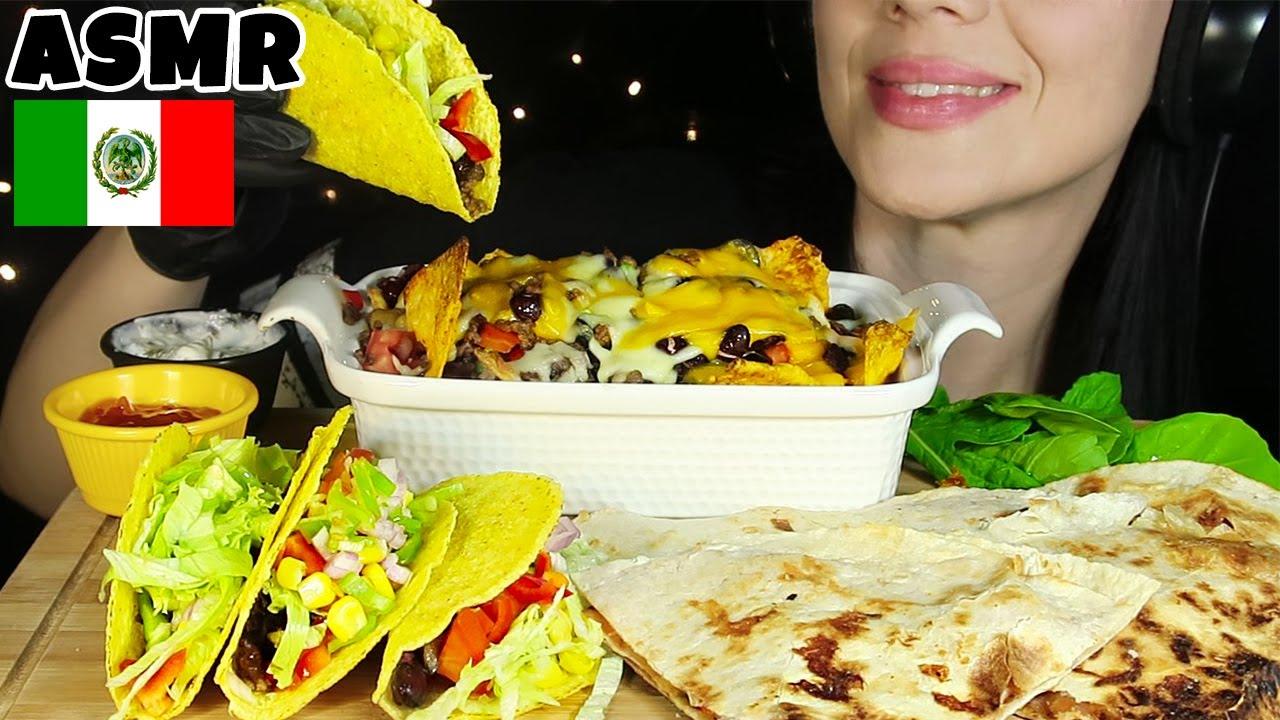 POPÜLER MEKSİKA YEMEKLERİ | Taco, Nachos, Quesadilla | Asmr Türkçe Mukbang