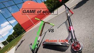 GAME OF SCOOT @Lucas_chaveroux VS @Lucas_Leglib
