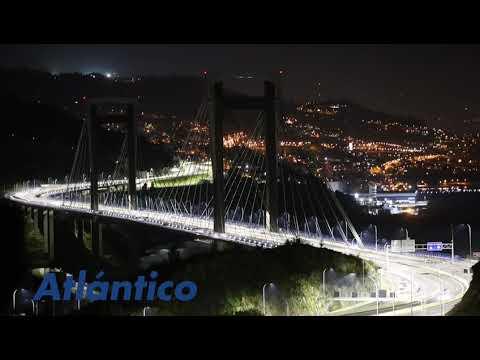 La iluminación del puente de Rande pendiente