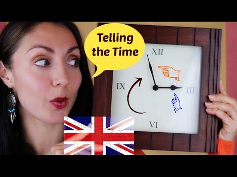 Telling the Time: British English