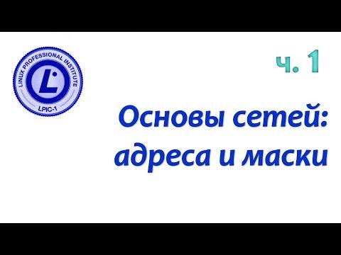LPIC 109.1 часть первая. IPv4 адреса и маски подсетей
