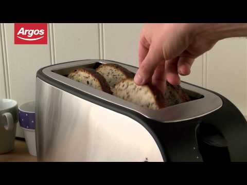 Cookworks Stainless Steel XB8133 4 Slice Toaster Argos Review