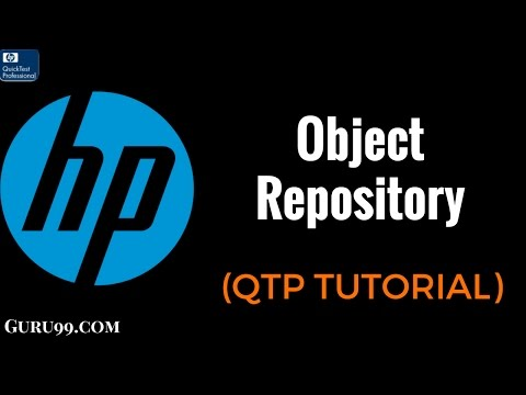 Object Repository  - QTP TutoriaL #22