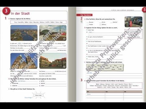 ответы на учебник по немецкому planet a1