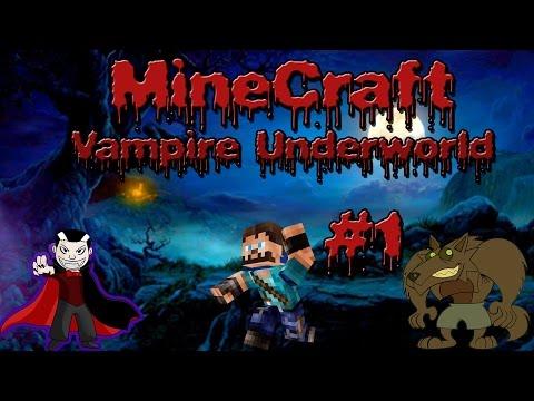 Minecraft| Vampire Underworld| Ep. 1| The Werewolf bites twice!!!