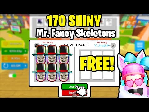 ⚡i-was-given-170-of-the-best-pets-in-magnet-simulator!-*shiny-mr.fancy-skeletons!*⚡