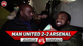 Man United 2-2 Arsenal | No One Wanted To Have A Shot On Goal!! (Sparks)