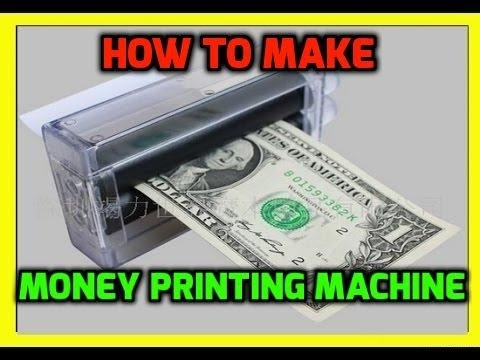 How to Make Currency Printing Machine - Money Printing Machine DIY