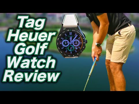 TAG HEUER CONNECTED GOLF EDITION WATCH REVIEW