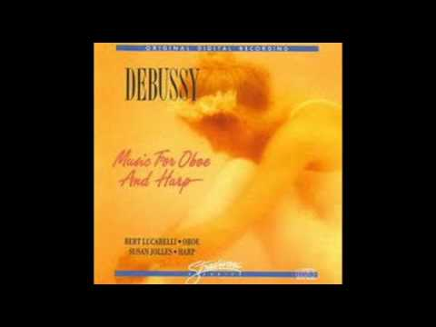 DEBUSSY - Music for OBOE and HARP - MENUET 3/13
