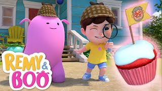 Mystery of the Missing Cupcake!  | Remy & Boo | Universal Kids
