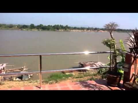 Mekhong River and view of Laos