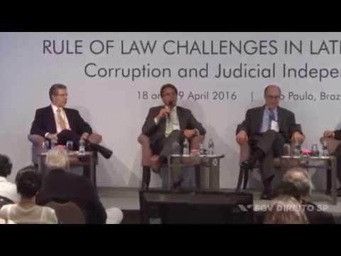 (Conference: RoL Challenges in Latin America) | Due process of law and the legal profession