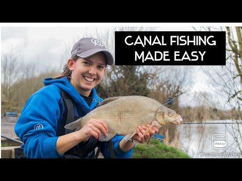 Canal Fishing Made Easy On Deep Canals - Aire & Calder Canal