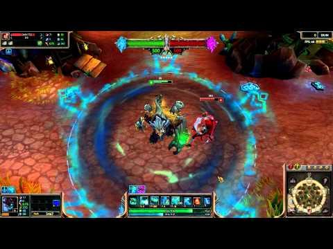 (OLD) Haunted Maokai (2014 Update) League of Legends Skin Spotlight