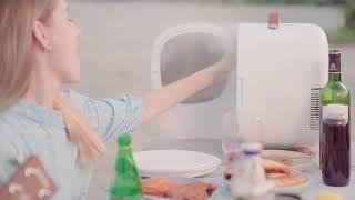 소형 미니 냉장고 다용도 차량용 화장품 냉장고