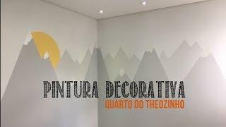 PINTURA DECORATIVA - QUARTINHO DE BEBÊ | Thina Caroline