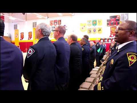 September 11 Memorial Mass at Scecina Memorial High School (2018)