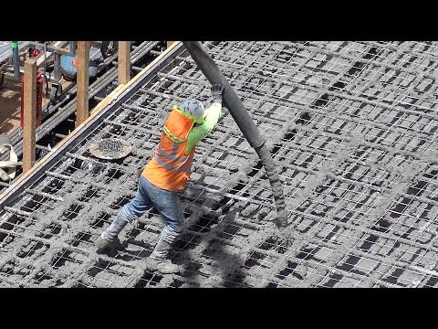 Medley of concrete-pumping clips